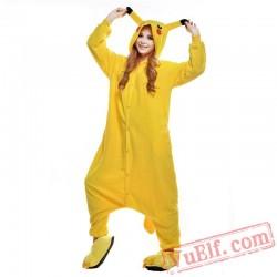 Cartoon Pikachu Onesie Costumes / Pajamas for Adult - Kigurumi Onesies