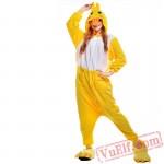 Yellow Duck Onesie Costumes / Pajamas for Adult - Kigurumi Onesies