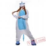 Blue Unicorn Onesie Costumes / Pajamas for Adult - Kigurumi Onesies