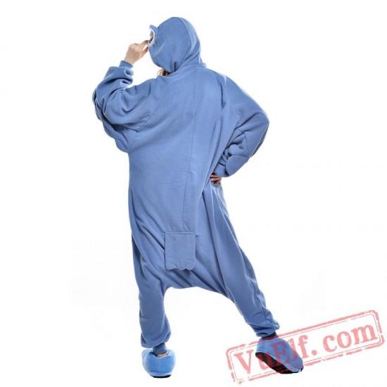 Blue Owl Onesie Costumes / Pajamas for Adult - Kigurumi Onesies