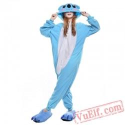 Blue Koala Onesie Costumes / Pajamas for Adult - Kigurumi Onesies