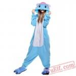 Blue Elephant Onesie Costumes / Pajamas for Adult - Kigurumi Onesies
