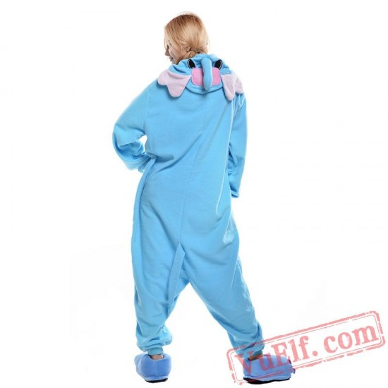 Blue Elephant Onesie Costumes / Pajamas for Adult - Kigurumi Onesies
