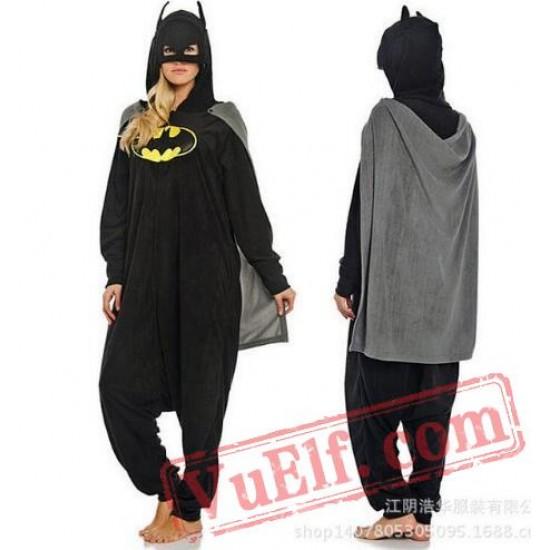 Superhero Batman Onesie Costumes / Pajamas for Adult - Kigurumi Onesies