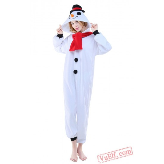 Snowman Onesie Costumes / Pajamas for Adult - Kigurumi Onesies
