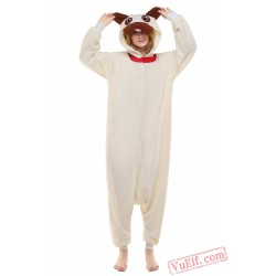 Beige Dog Onesie Costumes / Pajamas for Adult - Kigurumi Onesies