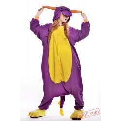 Purple Dragon Onesie Costumes / Pajamas for Adult - Kigurumi Onesies