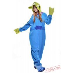Blue Green Sangan Onesie Costumes / Pajamas for Adult - Kigurumi Onesies