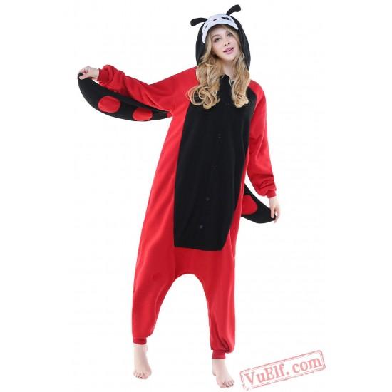 Red Ladybug Onesie Costumes / Pajamas for Adult - Kigurumi Onesies
