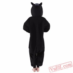 Black Cat Onesie Costumes / Pajamas for Kids - Kigurumi Onesies