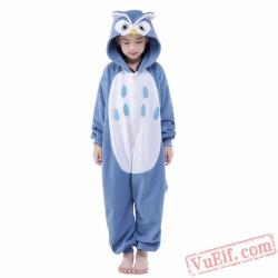 Cartoon Owl Onesie Costumes / Pajamas for Kids - Kigurumi Onesies