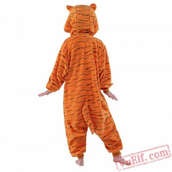 Tiger Onesie Costumes / Pajamas for Kids - Kigurumi Onesies