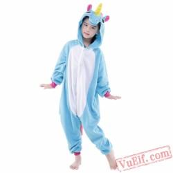 Blue Pegasus Onesie Costumes / Pajamas for Kids - Kigurumi Onesies