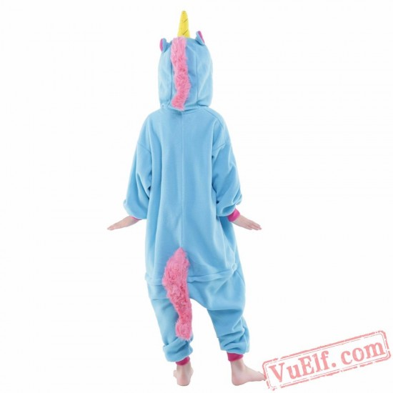 Blue Pegasus Onesie Costumes / Pajamas for Kids - Kigurumi Onesies