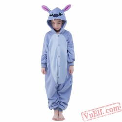 Blue Stitch Onesie Costumes / Pajamas for Kids - Kigurumi Onesies