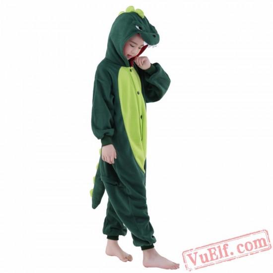 Dinosaur Onesie Costumes / Pajamas for Kids - Kigurumi Onesies
