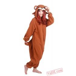 Brown Pedo Bear Kigurumi Onesies,Adult Animal Costumes