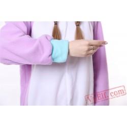 Purple Unicorn Kigurumi Onesie Pajamas Animal Costumes