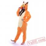 Adult Deer Kigurumi Onesie Pajama Costumes