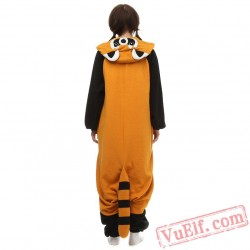 Raccoon  Kigurumi Pajama Costumea Adult Animal Onesies
