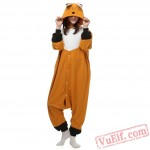 Fox Kigurumi Costumes Animal Onesie Pajamas