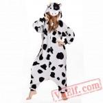 Dairy Cow Kigurumi Onesie Pajamas Animal Pajama Costumes