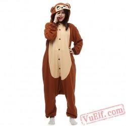 Adult Monkey Kigurumi Onesie Pajamas Animal Onesies