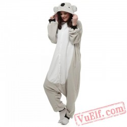 Adult Koala Kigurumi Onesie Pajamas Animal Costumes