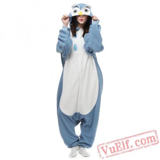 Owl Onesie Pajamas Animal Kigurumi Onesie Costumes