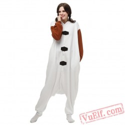 Olaf Onesie Pajamas Adult Kigurumi Costumes