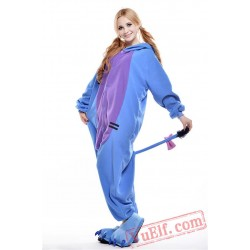 Blue Donkey Onesie Pajamas Cartoon Onesie Costumes