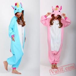 Adult Cartoon Unicorn Kigurumi Onesies Pajamas Costumes