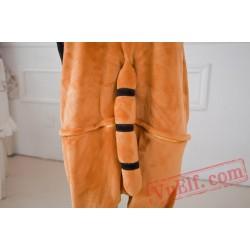 Raccoon Kigurumi Onesie Pajama Costumes Adult Animal Onesies