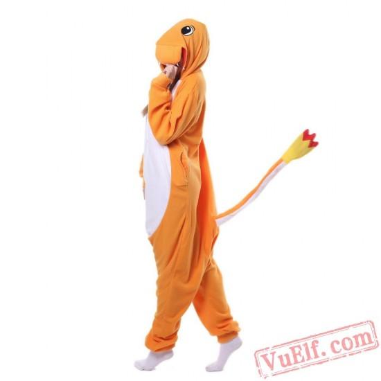 Pokemon Charizard Kigurumi Onesies Pajamas Adult Dragon Costume