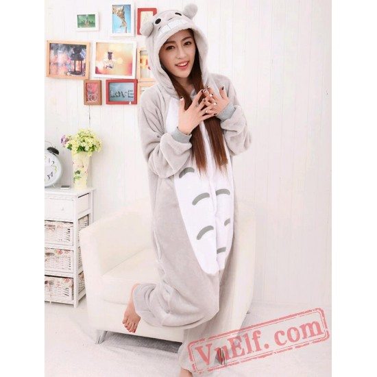 Adult Animal Onesie Pajamas Totoro Kigurumi Onesie Costumes
