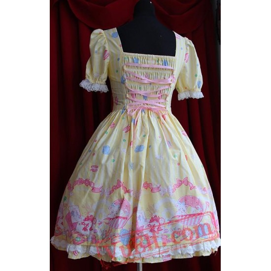 Infanta Dolly House One Piece Lolita Dress