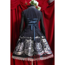 Infanta Power and Throne Lolita Dress
