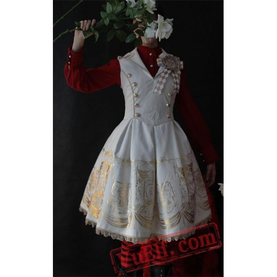Infanta Power and Throne Lolita Dress