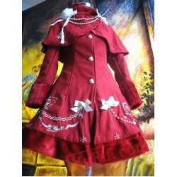 Infanta Roses Embroidery Lolita Dress