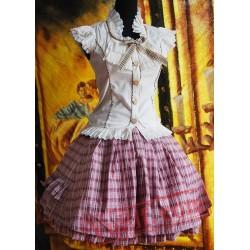 May Bunny College Cotton Lolita Dress