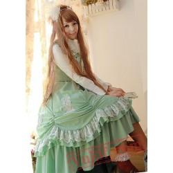 Infanta Viola Smile Chiffon Long Lolita Dress