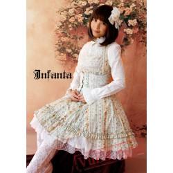 Sweet Floral Camouflage Lolita Jumper Dress
