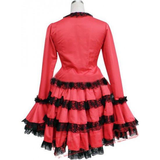 Long Sleeves Multi-Layer Cosplay Lolita Dress