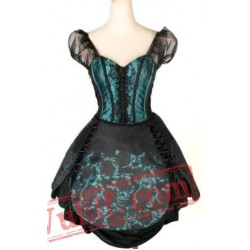 Black Victorian Gothic Lolita Cosplay Party Dress