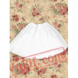 Cotton White Sleeveless Sweet Lolita Dress
