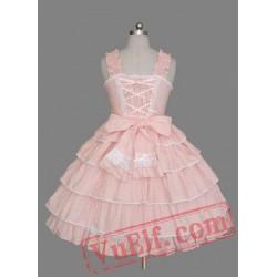 Cute Pink Sweet Lolita Dress