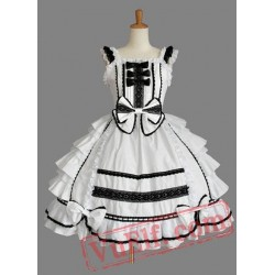 Cotton Sweet Sleeveless Lolita Dress