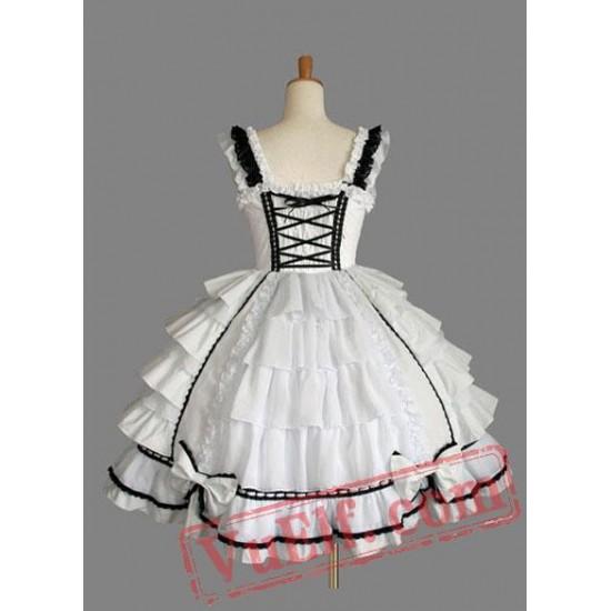 Cotton Sweet Sleeveless Lolita Dress