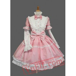 Long Sleeves Cotton Sweet Lolita Dress