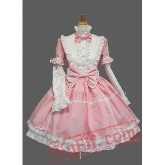 Long Sleeves Cotton Sweet Lolita Dress